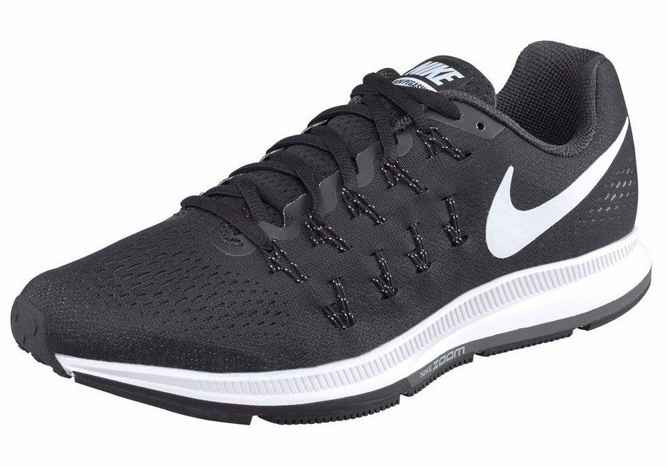 Nike »Air Zoom Pegasus 33« Laufschuh in schwarz-weiß