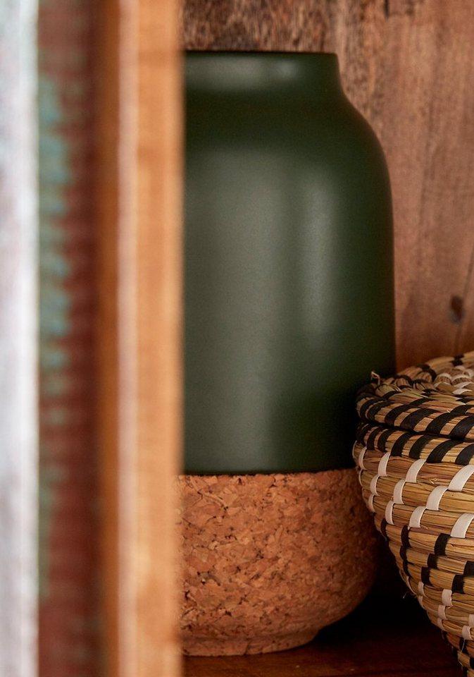 Bloomingville Vase in grün