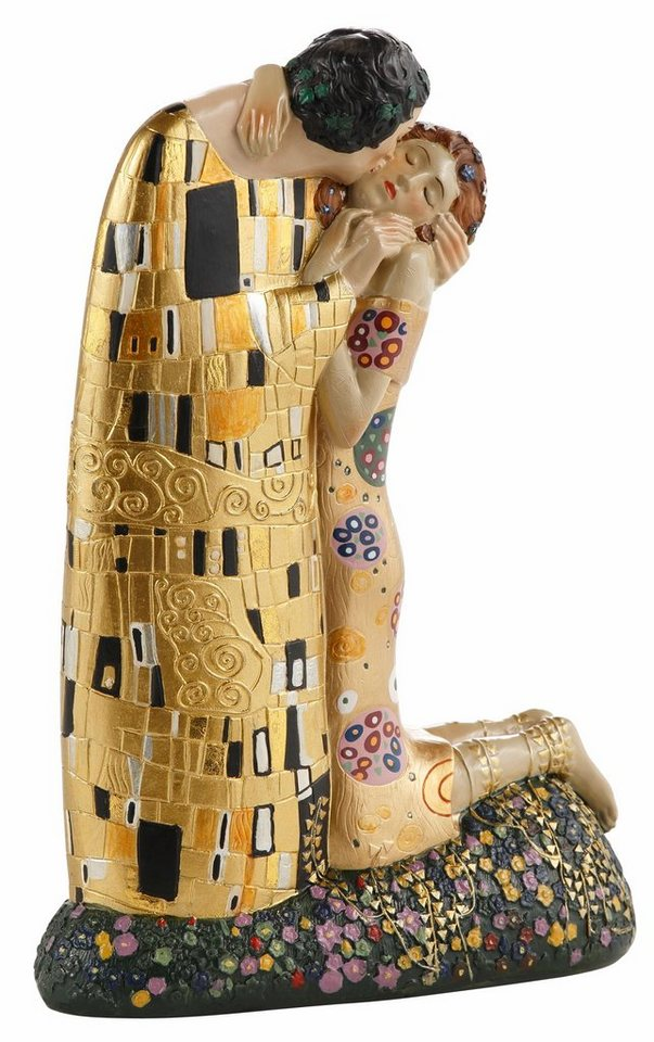 Home affaire Dekofigur »Klimt - Der Kuss« in goldfarben