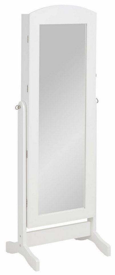 home affaire stand schmuckschrank mit spiegel otto. Black Bedroom Furniture Sets. Home Design Ideas
