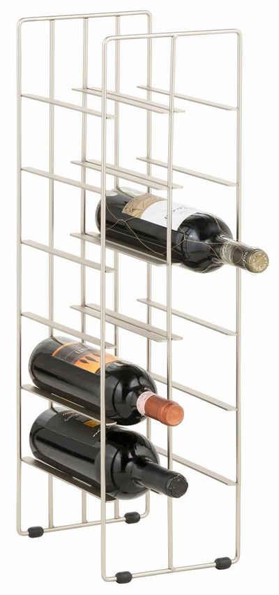 Weinregal kaufen » Holz & Metall Weinflaschenregal | OTTO