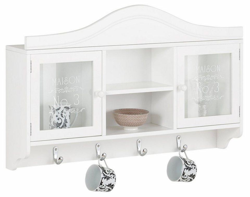 Home affaire Hängeschrank, Breite 80 cm in weiß