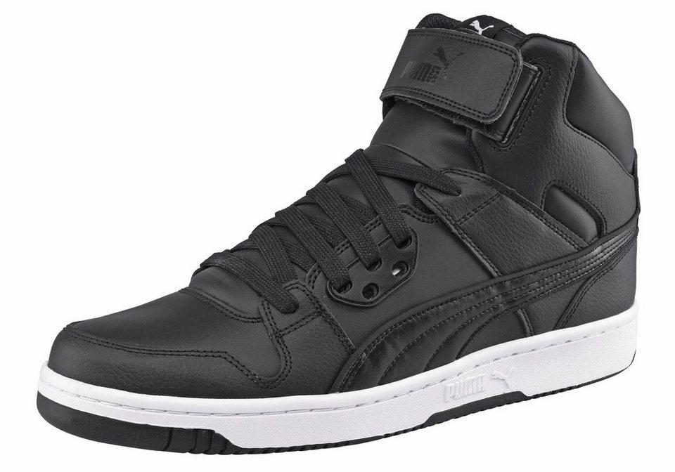 PUMA »PUMA Rebound Street« Sneaker in schwarz