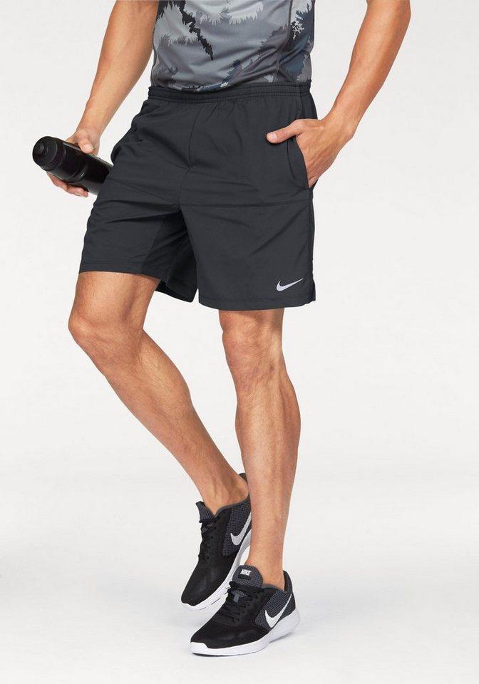 """Nike Laufshorts »7"""" DISTANCE SHORT« mit Innenslip in schwarz"""