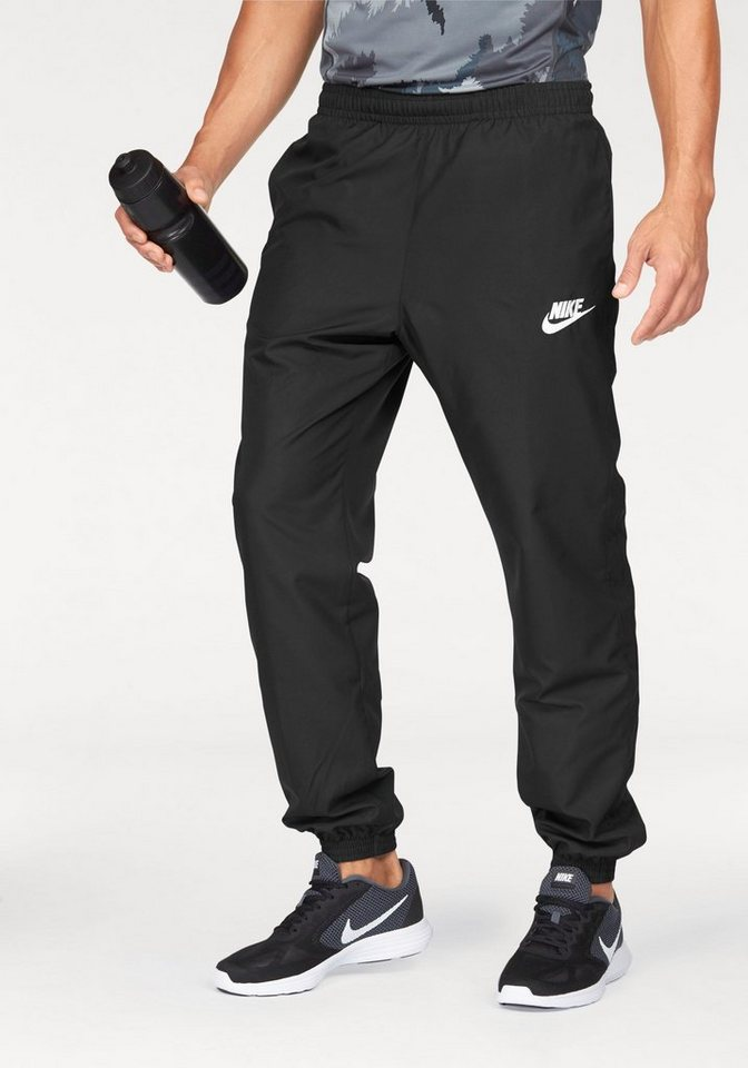 Nike Funktionshose »NSW PANT CUFF WOVEN SEASON« in schwarz