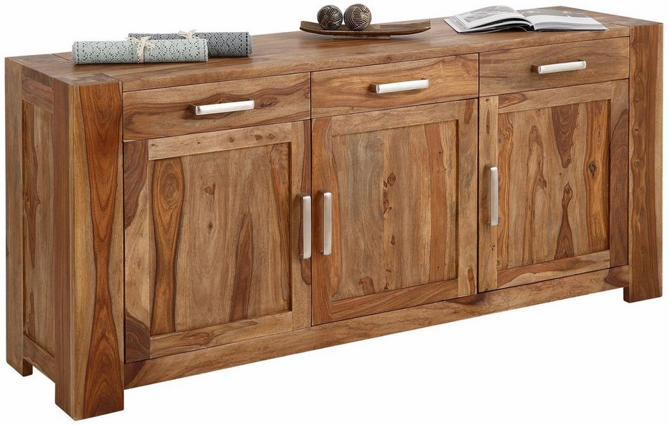 SIT Sideboard »Thor«, Breite 175 cm in Sheesham natur