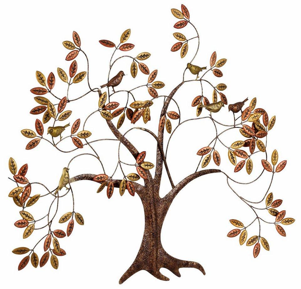 Home affaire Wanddekoration »Baum« in kupfer