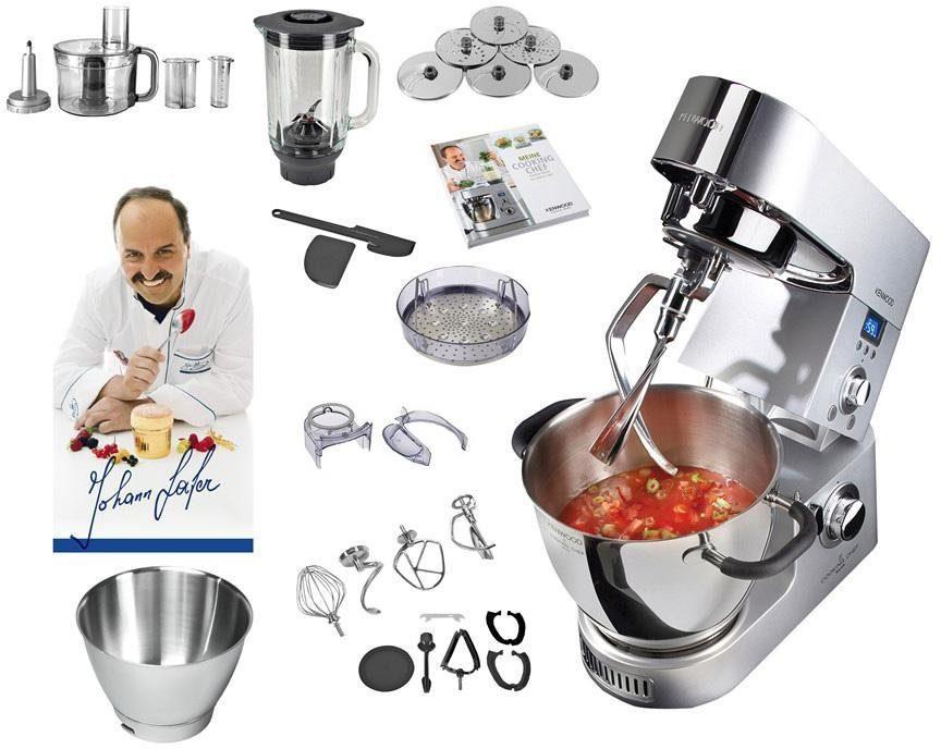 KENWOOD Küchenmaschine »Cooking Chef KM096« inkl. Sonderzubehör im Wert von ca. 270,-€