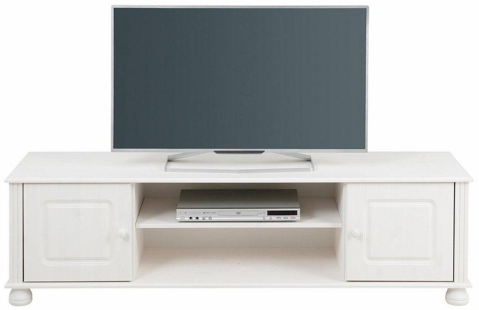Home affaire Lowboard »Mette«, Breite 160 cm in weiß