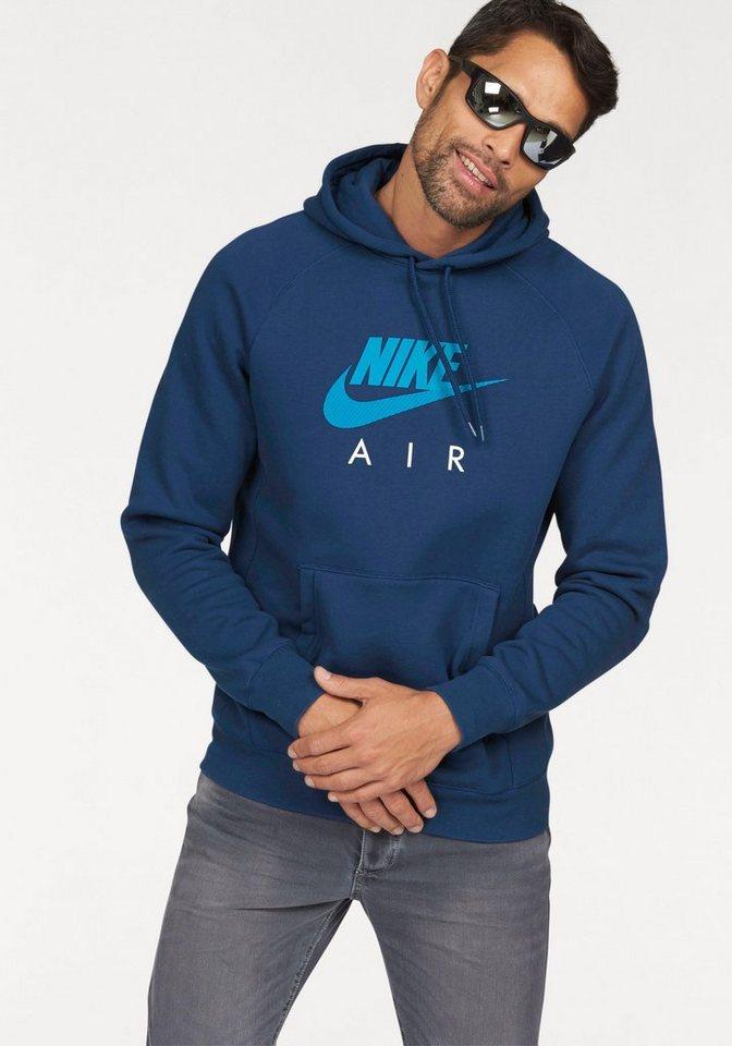 Nike Kapuzensweatshirt »NSW HOODIE POPOVER FLEECE AIR HERITAGE« in blau
