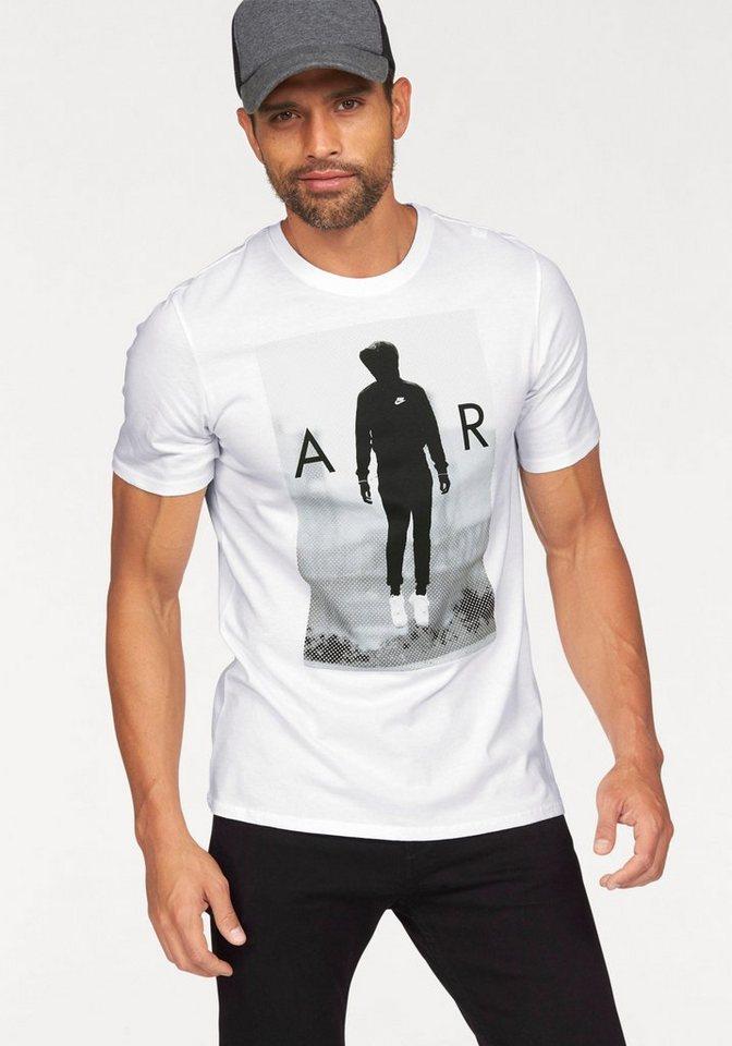 Nike TEE-HIGH ON AIR T-Shirt in Weiß