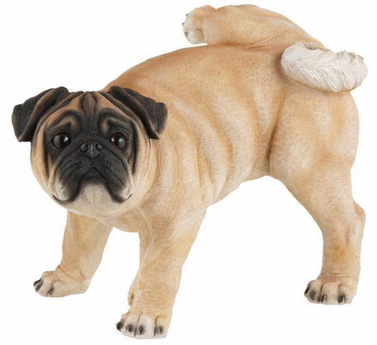 Tierfigur »Hund Mops«