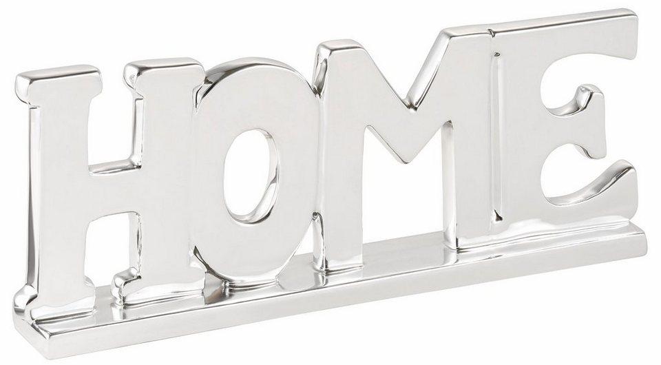 Home affaire Schriftzug »HOME« in silber