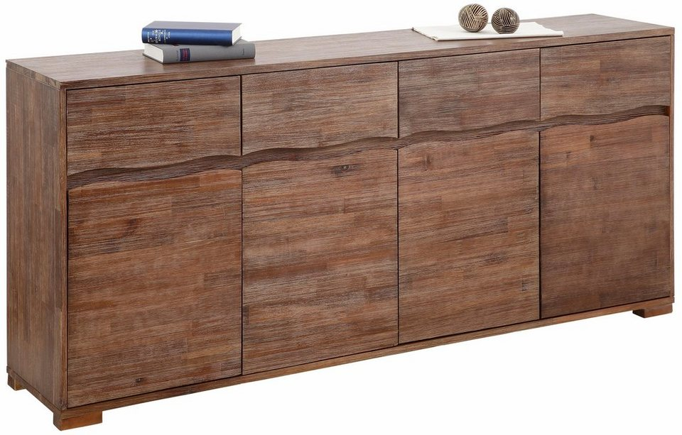 home affaire sideboard wave breite 178 cm otto. Black Bedroom Furniture Sets. Home Design Ideas
