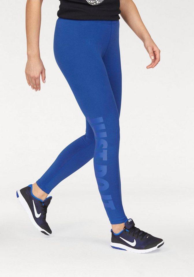 Nike Leggings »LEG-A-SEE JUST DO IT« in blau