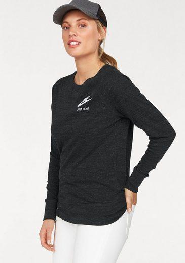 Nike Sportswear Langarmshirt NSW GYM VINTAGE CREW