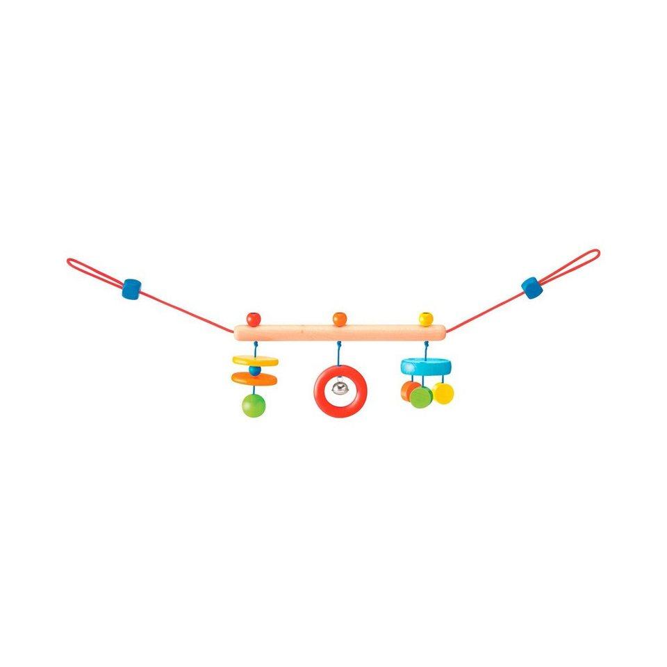 SELECTA Kinderwagenkette Trapezini aus Holz in mehrfarbig
