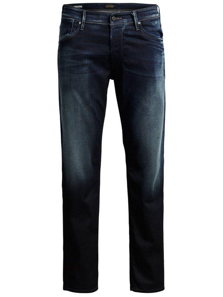 Jack & Jones Mike Dash BL 668 Comfort Fit Jeans in Blue Denim