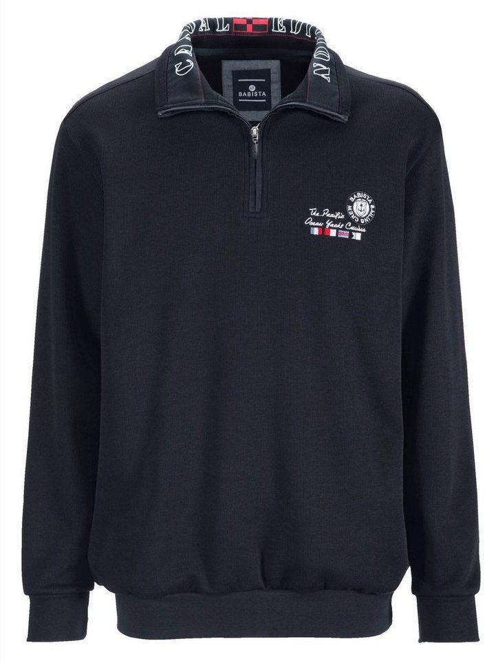 Babista Sweatshirt in marine