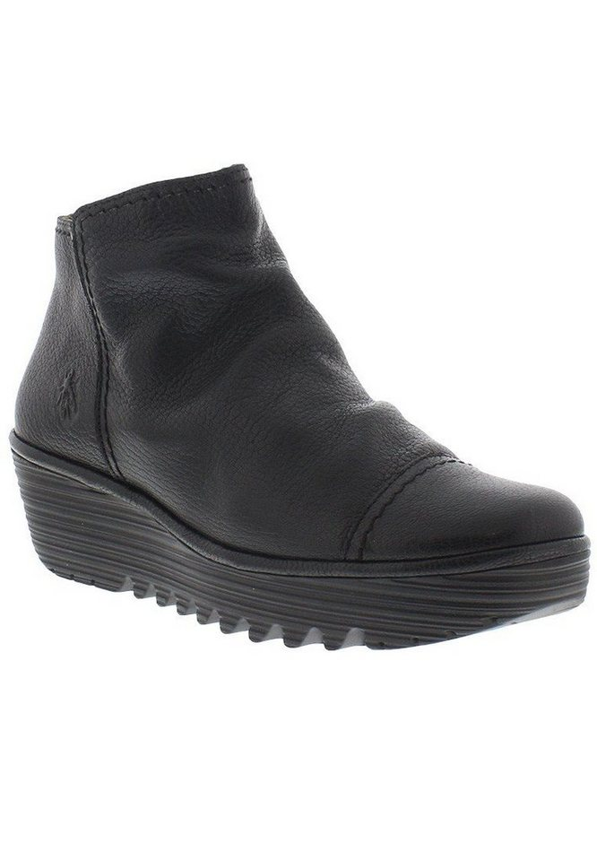 FLY LONDON Stiefelette,Wedges »RIAZ691FLY mousse« in schwarz