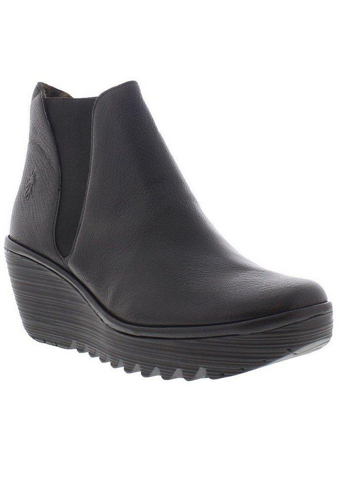 FLY LONDON Chelsea,Boots,Stiefelette »Yoss mousse« in schwarz