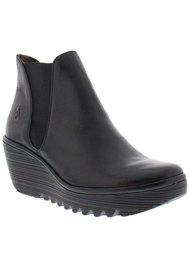 FLY LONDON Chelsea,Boots,Stiefelette »Yoss nevada« in schwarz