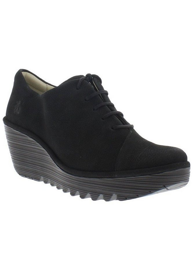 FLY LONDON Halbschuhe,Wedges »YUMI683FLY« in schwarz