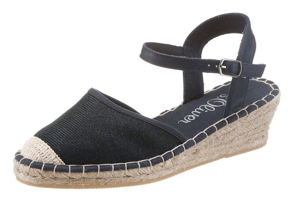 s.Oliver RED LABEL Espadrille mit S.Oliver Soft Foam in navy