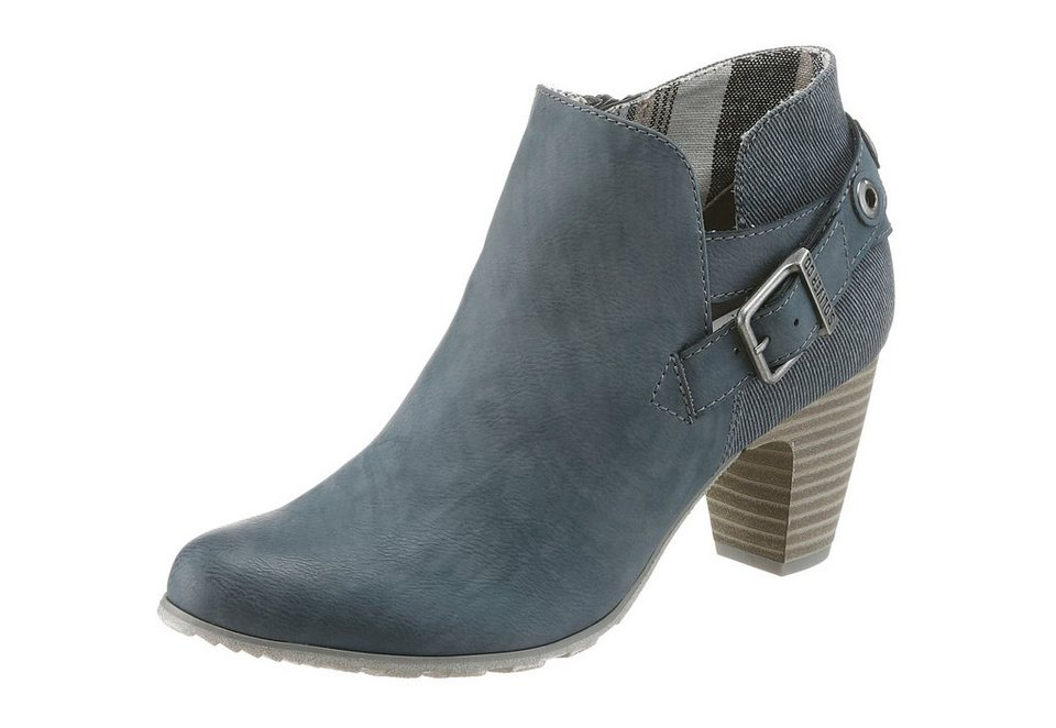 s.Oliver RED LABEL Stiefelette in blau