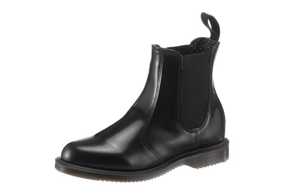 DR. MARTENS Chelseaboots in schwarz