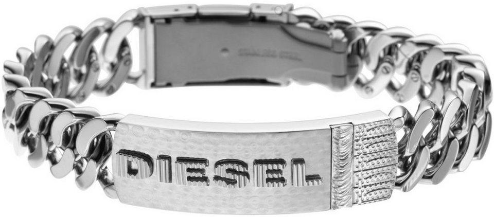 Diesel Armband »DX0326040« in silberfarben