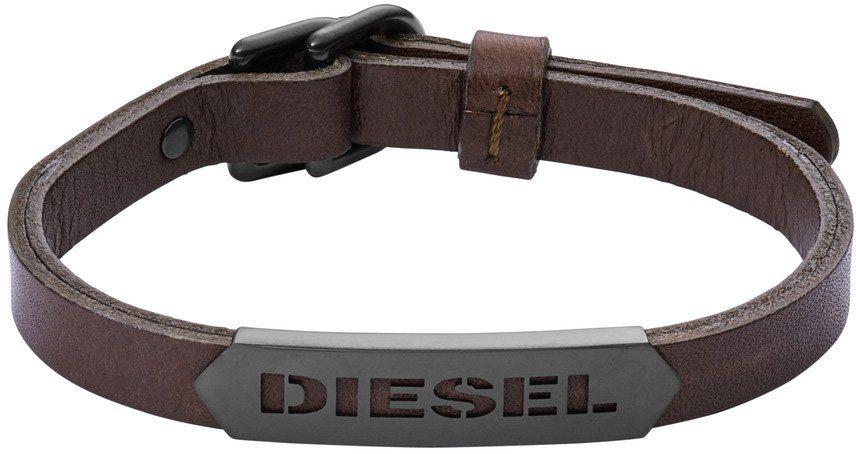 Diesel Armband, »Stackables, DX1001001« in schwarz-braun-grün