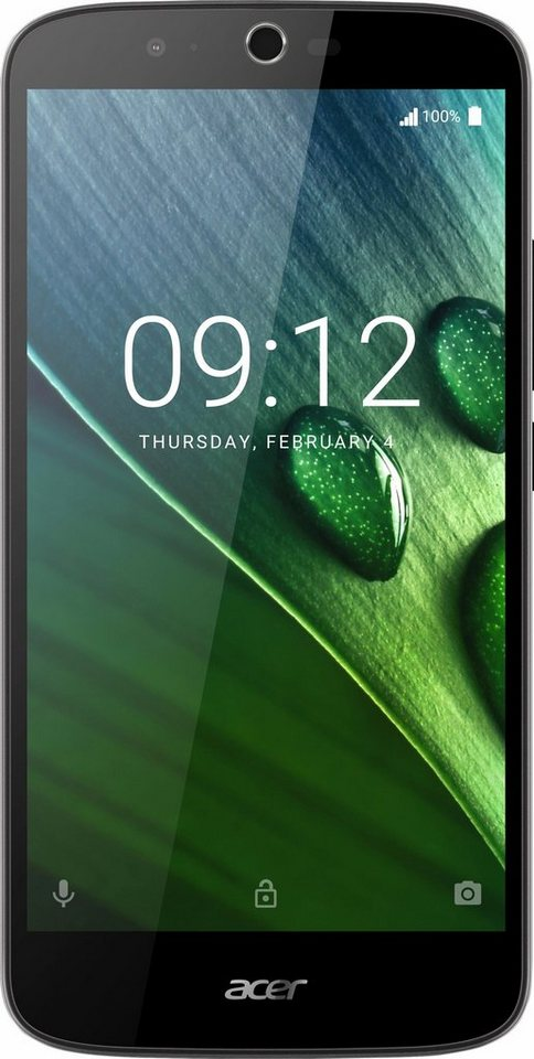 Acer Liquid Zest Plus Smartphone, 14 cm (5,5 Zoll) Display, LTE (4G), Android 6.0 (Marshmallow) in blau