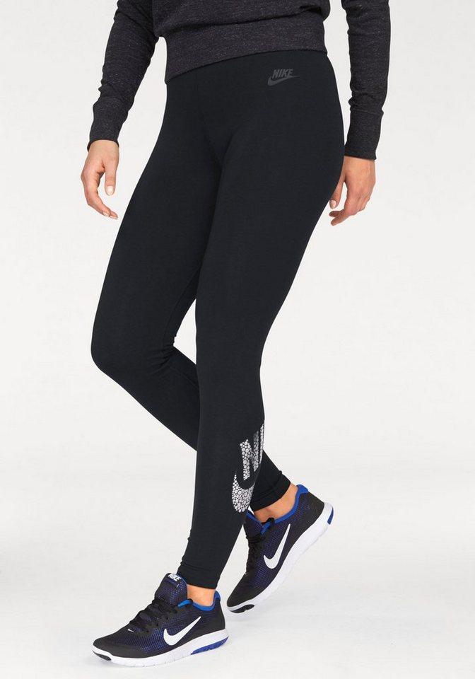 Nike Leggings »SPORTSWEAR LEGGING« in schwarz