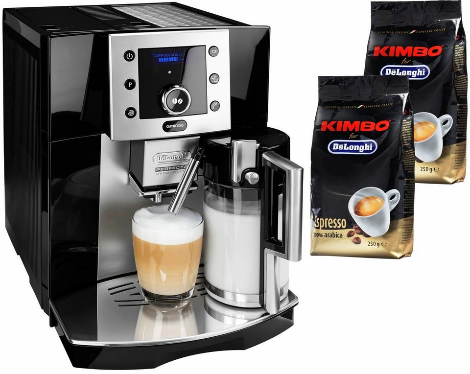 De'Longhi Kaffeevollautomat »Perfecta ESAM 5550« in schwarz
