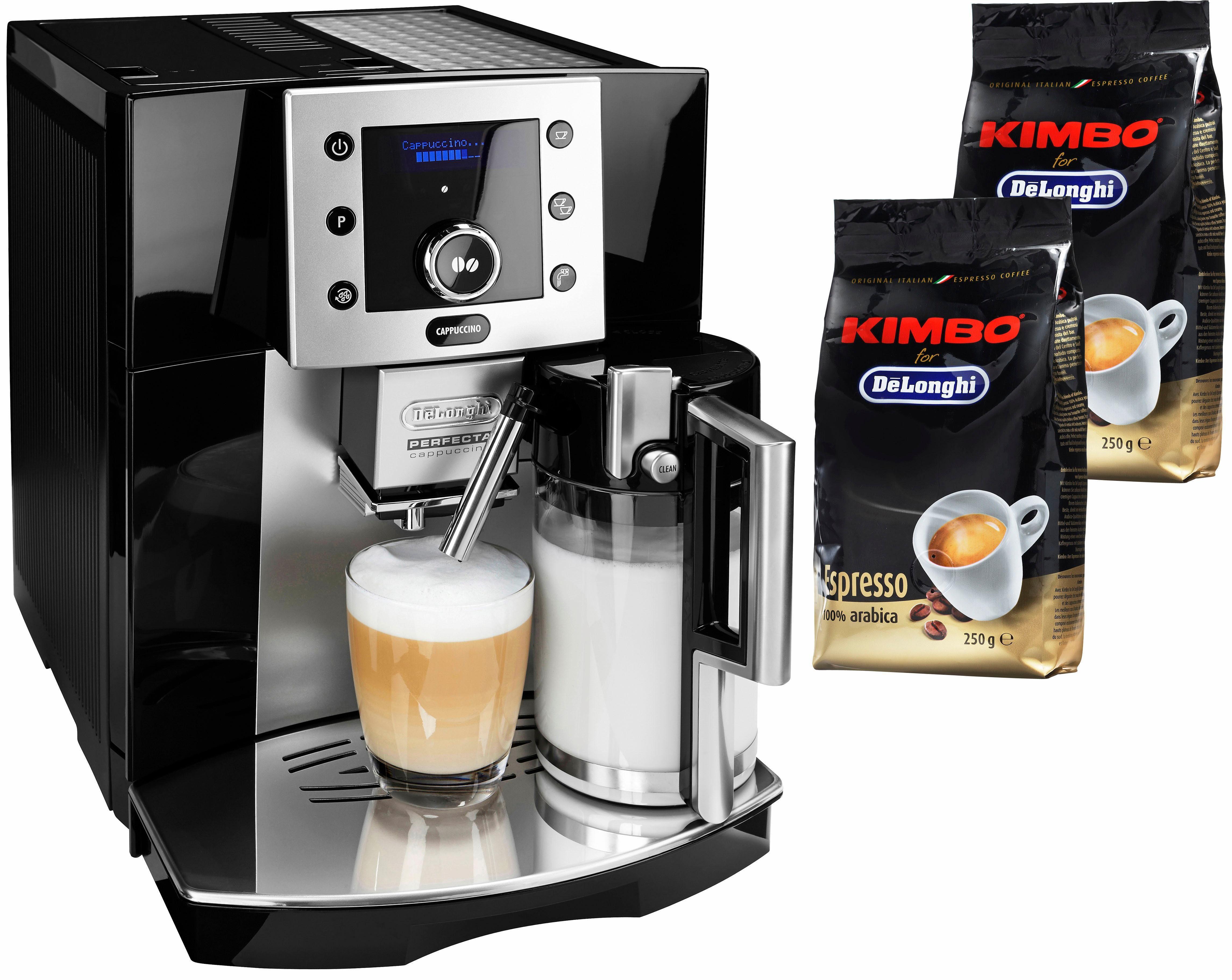De'Longhi Kaffeevollautomat Perfecta ESAM 5550.BW, herausnehmbare Brühgruppe