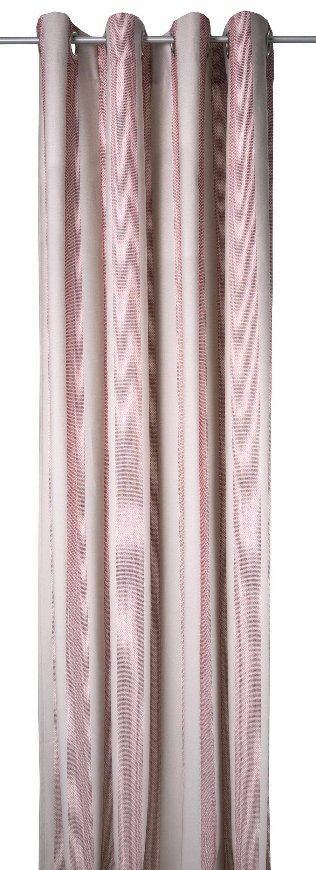 Vorhang, TOM TAILOR, »GLAMOUR STRIPES«, mit Ösen (1 Stück), Exklusiv bei OTTO