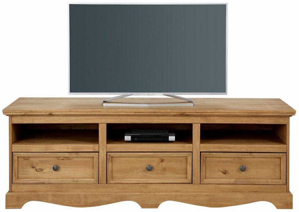 Home affaire Lowboard »Melissa«, Breite 160 cm in beize/wachs