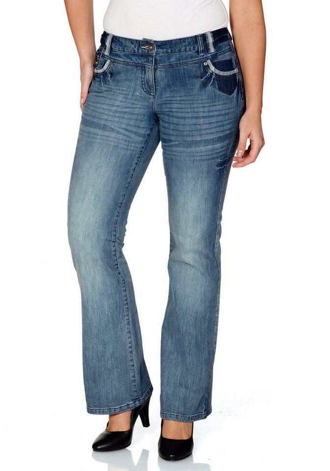 Joe Browns Bootcut-Jeans in blue denim