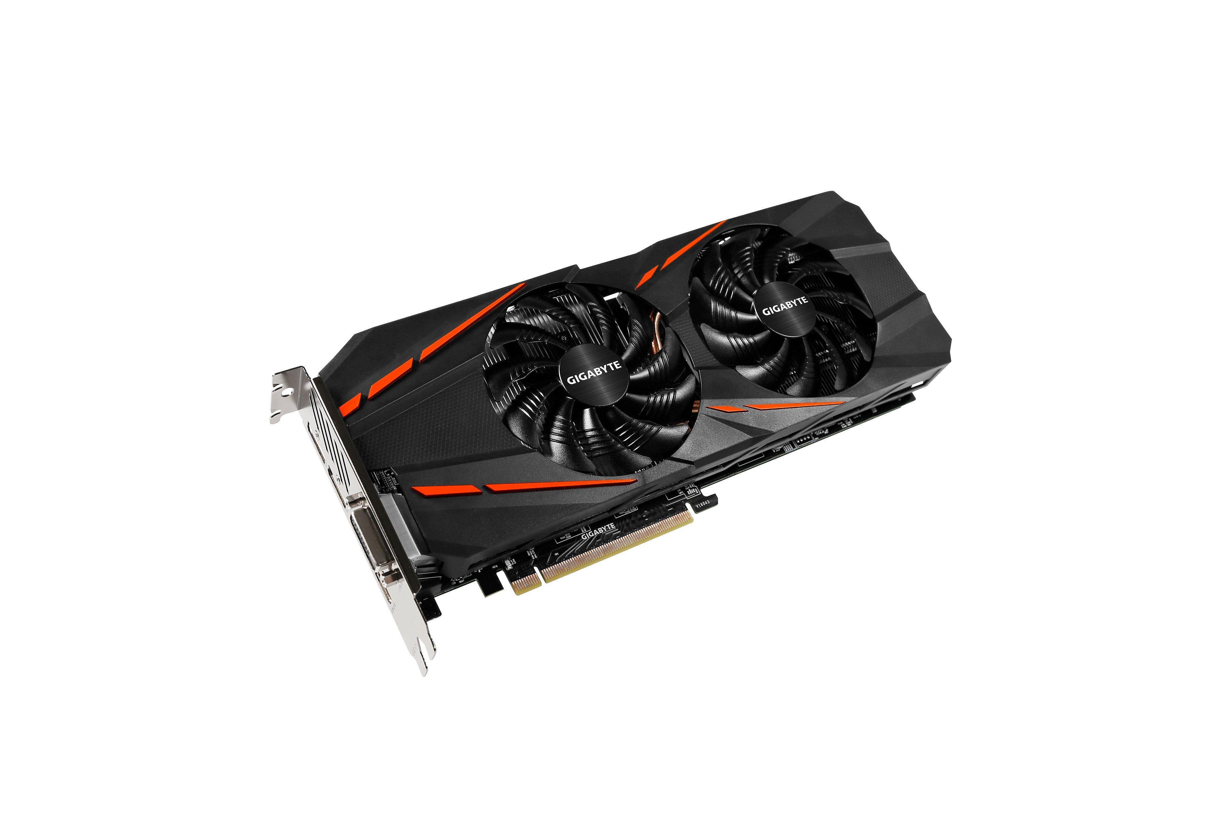 GIGABYTE Grafikkarte NVIDIA GeForce® GTX 1060 G1 Gaming »GV-N1060G1 Gaming-6GD«