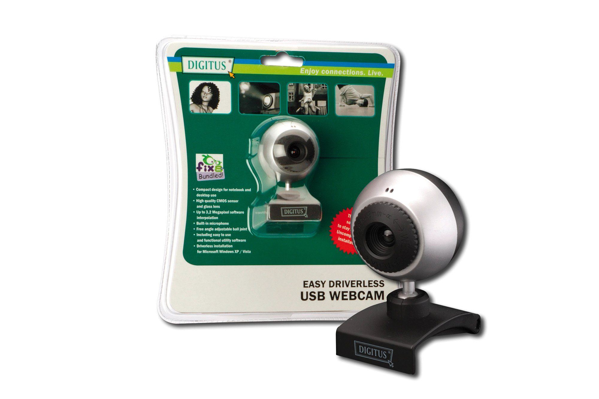 DIGITUS Video Digitus WebCam DA-70815 USB