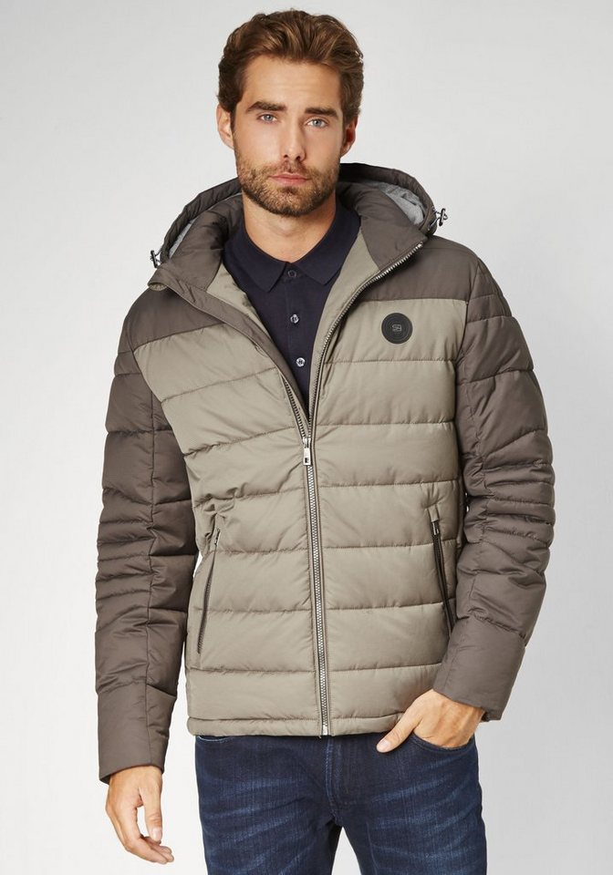 S4 Jackets Betweenjacket »ICE CUBE« in taupe