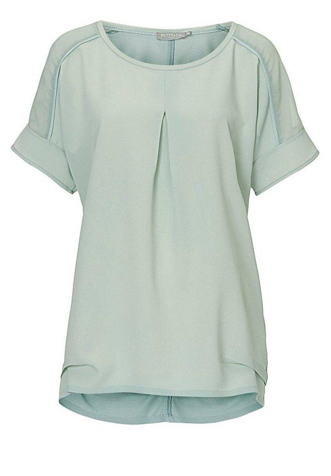 Betty&Co Shirt in blaugrün - Bunt