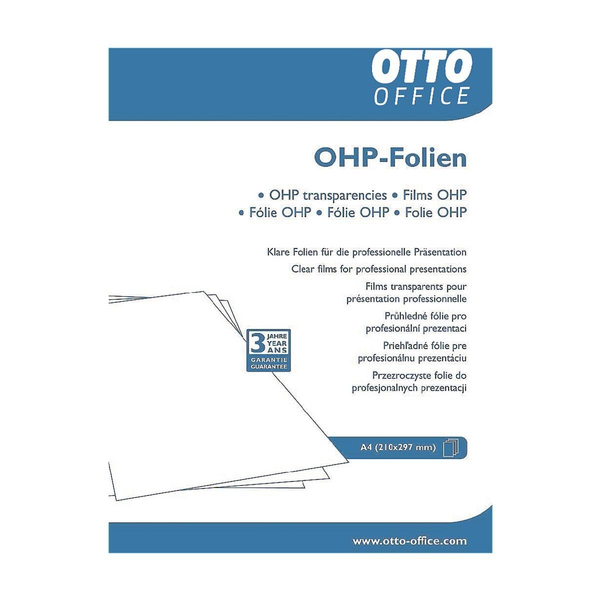 OTTO Office Standard OHP-Inkjet-Folien