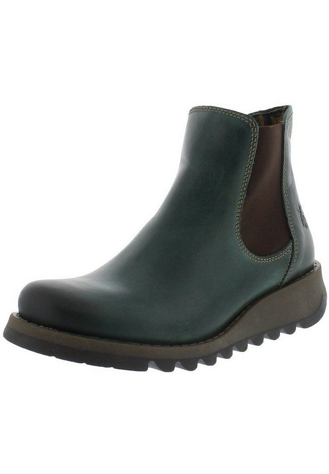 FLY LONDON Chelsea Boots »Salv« in petrol/türkis