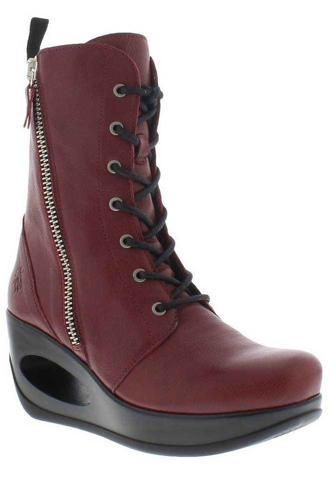 FLY LONDON Klassische Stiefelette »HUEL688FLY mousse« in cordoba red