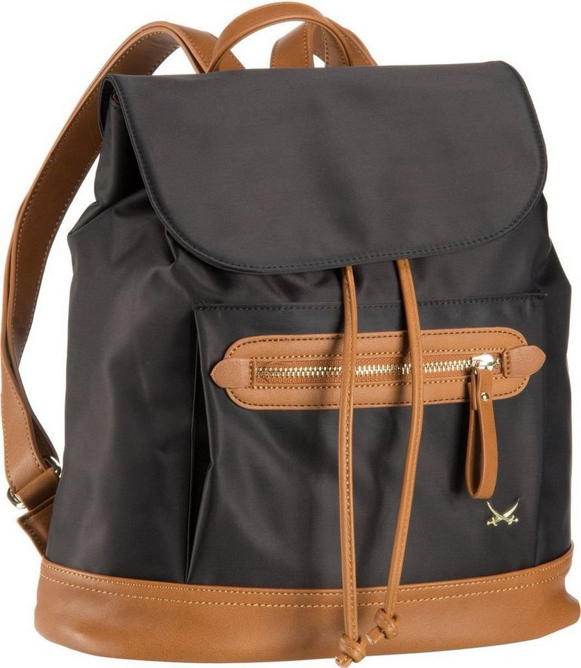 Sansibar Sporty 1028 Backpack in Black