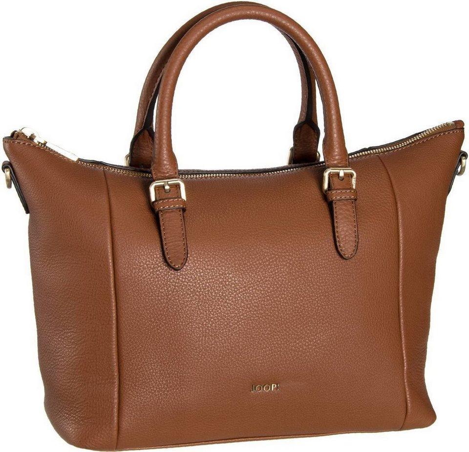 Joop Thoosa Nature Grain Handbag Small in Cognac