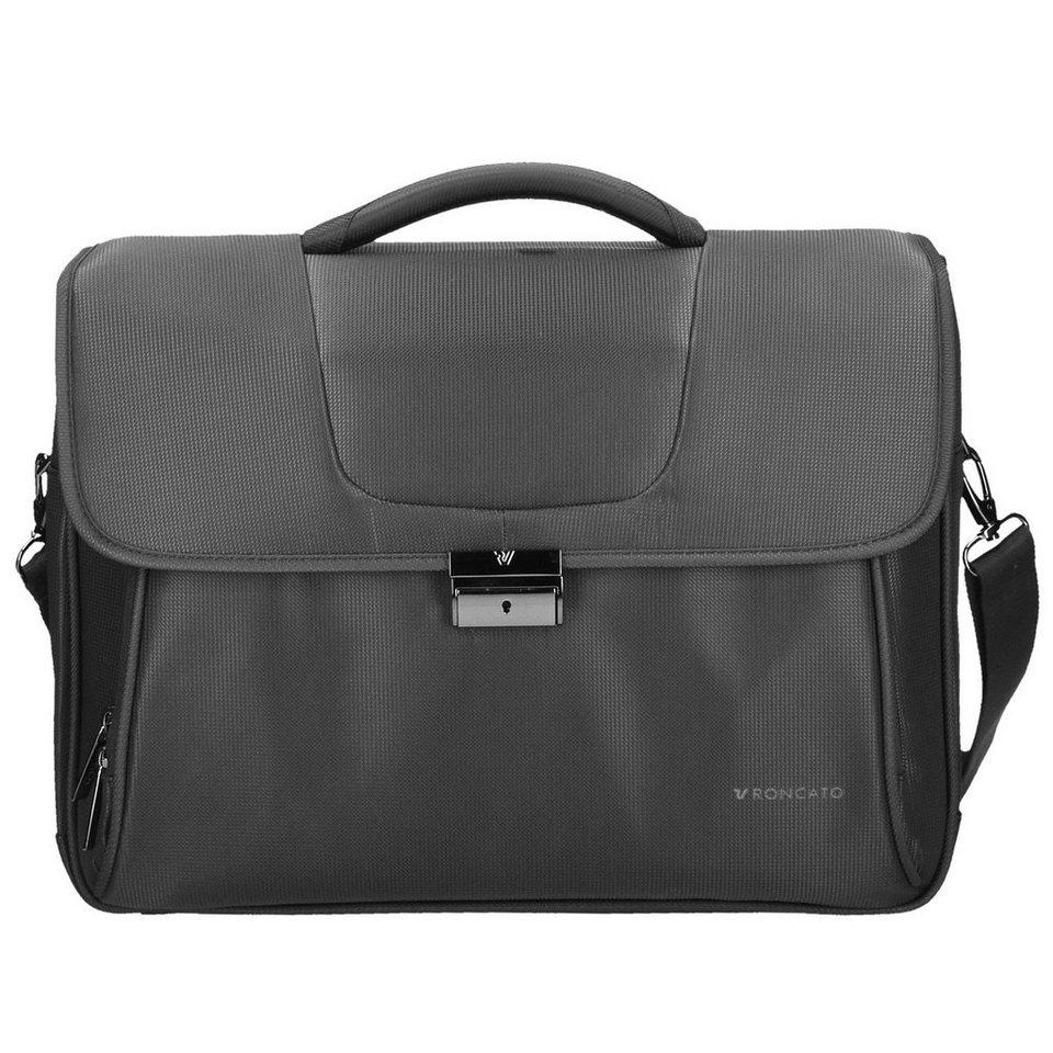 Roncato Clio Aktentasche 43 cm Laptopfach in nero