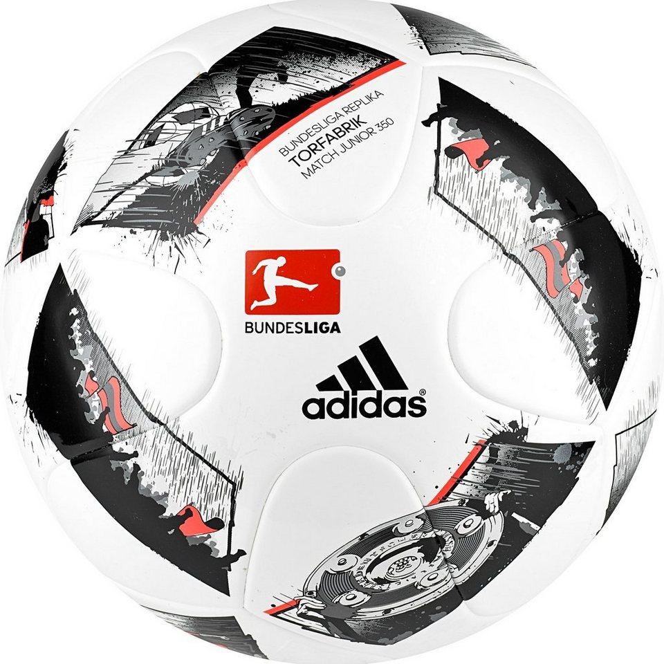 adidas Performance Torfabrik Junior 350 Fußballl 2016/2017 in weiß / schwarz